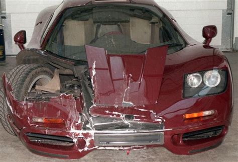 Rowan Atkinson Cheats Death In Mclaren F1 Supercar Crash