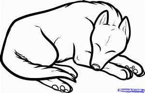 How to Draw a Sleeping Dog, Sleeping Dog, Step by Step ...