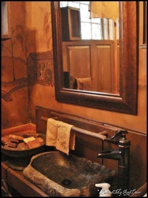 Primitive Bathroom Vanity Ideas by Primitive Bathroom Vanities Primitive Bathroom Ideas