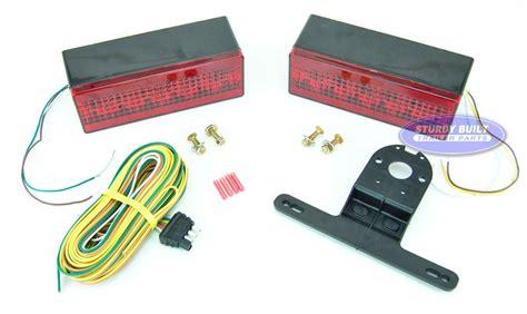 Boat Trailer Lights Kit by Led Submersible Boat Trailer Complete Light Kit Low Profile
