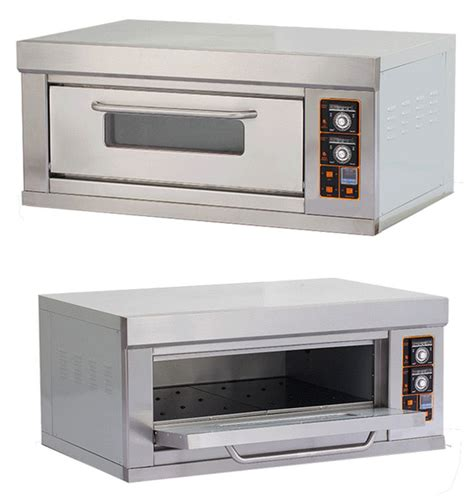 oven temperature electric trays baking commercial single bread deck
