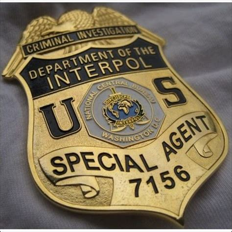 department of the interpol special criminal