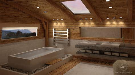 estrade pour cuisine perspective 3d et décoration d intérieur en image de