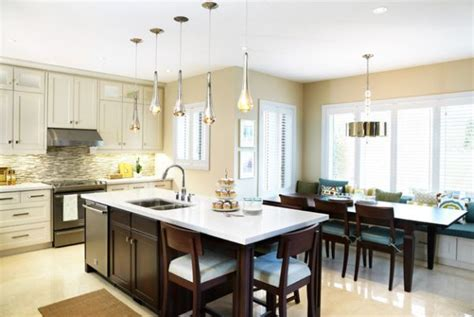 kitchen island seats 6 55 beautiful hanging pendant lights for your kitchen island