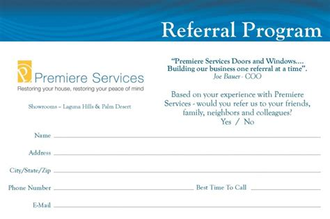 referral card 12 budget friendly offline marketing activities for small businesses