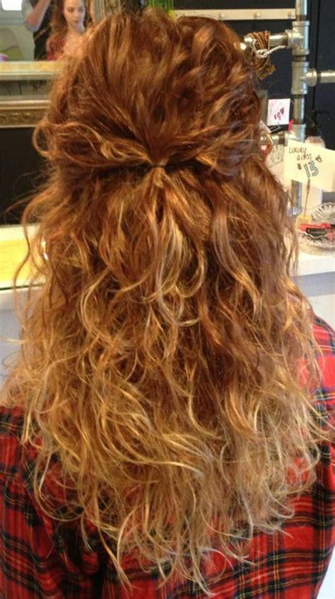 curly hair long hair ombre  tracey  voila hair