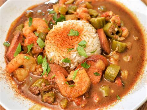 luisina cuisine shrimp and okra gumbo recipe dishmaps