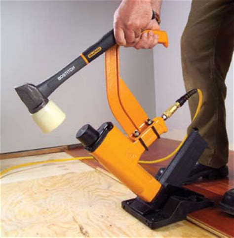 Bostitch Floor Nailer Miiifn by Bostitch Miiifn 1 1 2 To 2 Inch Pneumatic Flooring Nailer