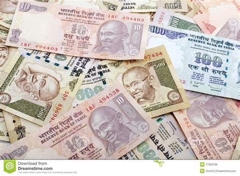 indian currency royalty  stock image image