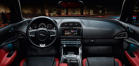 interior features jaguar xe beautifully crafted sports