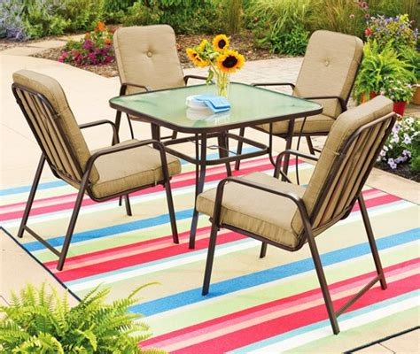 Mainstay Patio Furniture Cushions by Mainstays Lawson Ridge Cushions Walmart Replacement Cushions