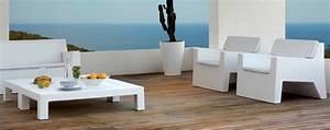 Salon De Jardin Polypropylène : mobilier d 39 ext rieur avec abconcept ~ Carolinahurricanesstore.com Idées de Décoration