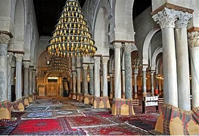 Mosque Kairouan Tunisia Prayer Hall Jarvis Dennis