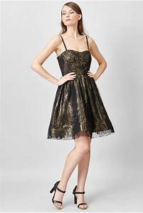 c39est ma robe alice olivia robe noire et doree With robe doree