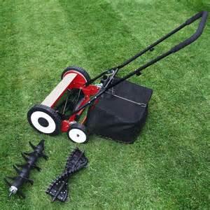 Push Lawn Mower Aerator