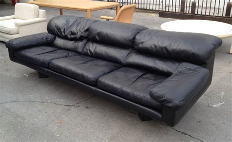 Vintage Leather Sofa By Zani From The