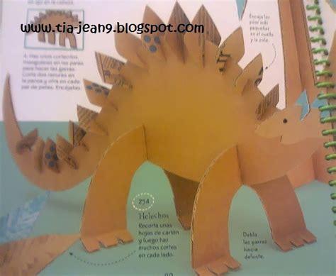 paso a paso con jeannine dinosaurio hecho de dinosaurio en 2019