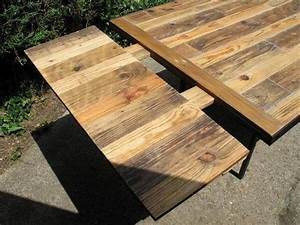 DIY Industrial Pallet Dining Table