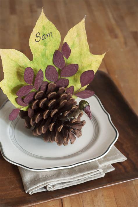 thanksgiving turkey diy cards place card relish craft