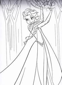 KonaBeun Zum Ausdrucken Ausmalbilder Elsa 15808