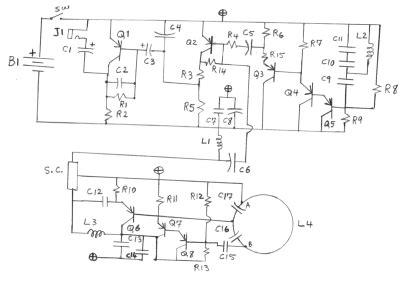 of comm01 ion photon rf metal detectors buildplans bfo b 003 singleturn