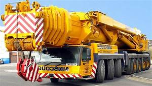Extreme Mobile Cranes In Action Liebherr And Palfinger