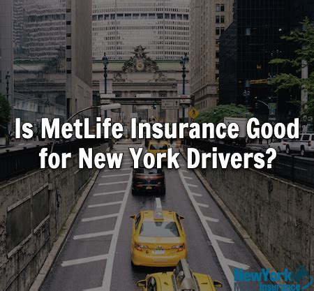 Metlife auto insurance earned 3.5 stars out of 5 for overall performance. Is MetLife Insurance Good for New York Drivers? - Our ...