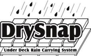 drysnap  deck rain carrying system trademark