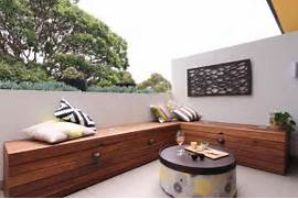 Garden Bench Seating by Outdoor Bench Seating