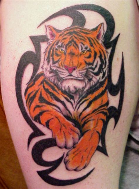 Tribal Tiger Tattoo Design For All Sheplanet