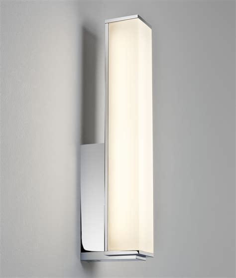 rectangular chrome  polycarbonate opal diffuser wall