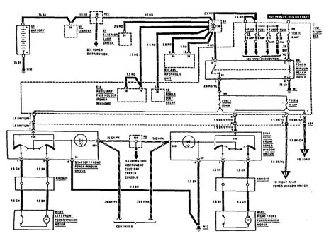 benz 1990 500sl mercedes electrical diagram wiring