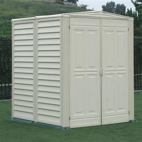 duramax storage shed duramax 00711 00782 5x5 yardmate garden vinyl shed w