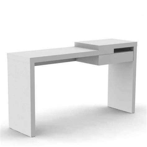 tiroir clavier sous bureau temahome reef bureau design blanc mat avec tiroir