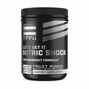 Let U2019s Get It Nitric Shock Pre - Workout  Fruit Punch