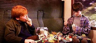 Potter Harry Ron Weasley Eat Train Eten