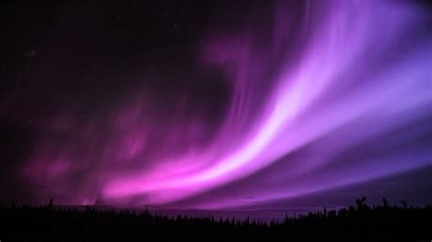 purple aurora borealis wallpapers hd wallpapers id