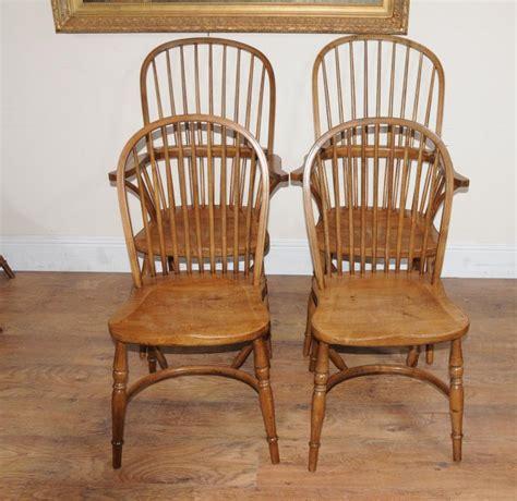 oak windsor kitchen dining chairs farmhouse chair ebay