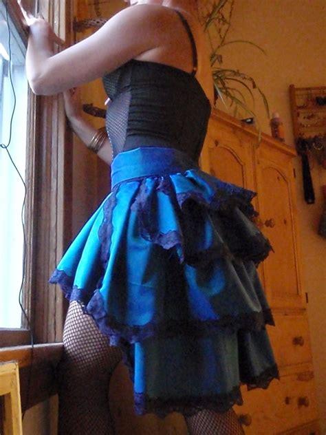 burlesque bustle skirt     bustle skirt
