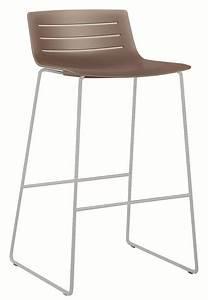 Barhocker Für Draußen : stuhl aus metall mit kunststoffschale f r moderne bars und ~ Michelbontemps.com Haus und Dekorationen