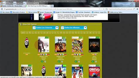 Con la suscripción de 3 meses xbox game pass ultimate combinas dos suscripciones en una tienes acceso a más de 100 juegos para xbox one y 360 además de tener acceso a la comunidad de jugadores en red. Juegos De Xbox Clásico Descargar Mediafire - Juegos De ...