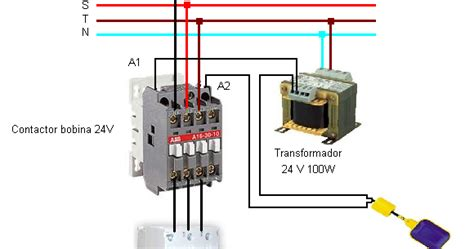 maniobra marcha paro trifasico bobina contactor 24v esquemas el 233 ctricos www apktodownload