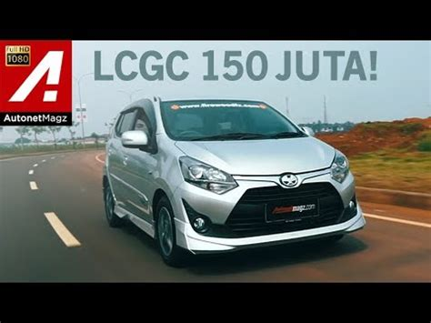 Review Toyota Agya by Review Toyota Agya 1 200 Cc Test Drive By Autonetmagz