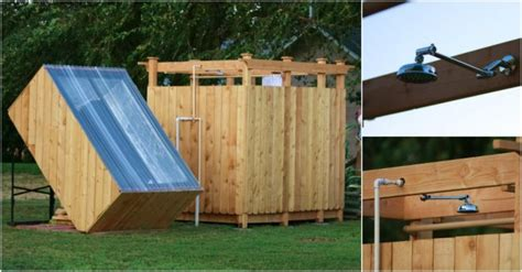Diy Solar Shower Plans How To Instructions