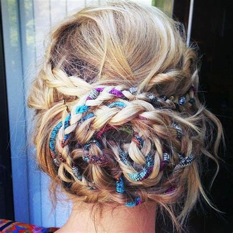 hairstyles  prom night  braids  curls