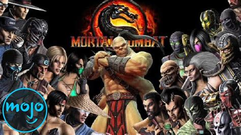 Top 10 Mortal Kombat Characters Youtube