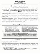 Resume Sample 20 Construction Superintendent Resume Career Example Construction Superintendent Resume Free Sample Construction Professional Construction Resume Samples Templates With Lovely Acting Resume Template With Agreeable Construction Manager