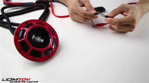 How Wire Horn Relay Wiring Harness Youtube