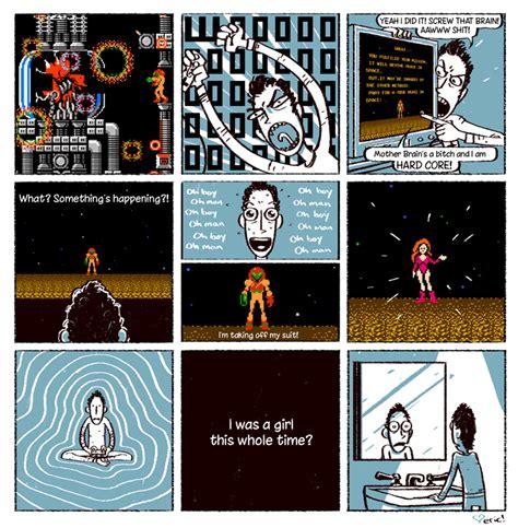 The Unexpected Metroid Revelation Humorous Animated Comic