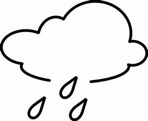 Rain Outline - ClipArt Best